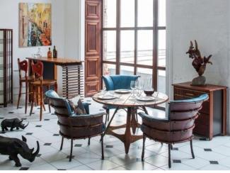 Гостиная в лофт интерьере - Импортёр мебели «Arredo Carisma (Австралия)»
