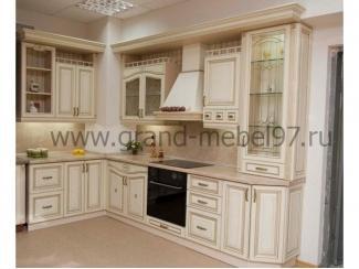 Кухня патина 02 - Мебельная фабрика «Гранд Мебель»
