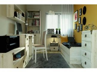 МОЛОДЕЖНАЯ КОМНАТА ИНДИАНА СОСНА КАНЬЙОН - Импортёр мебели «БРВ-Мебель (Black Red White)»