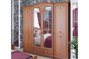 Шкаф платяной Палермо МДФ - Мебельная фабрика «Вестра»