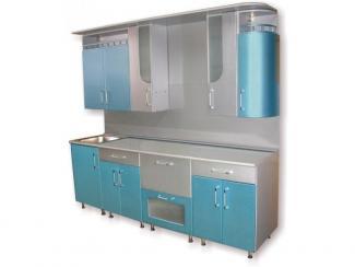 кухня Золушка крашеная глянцевая (металик)