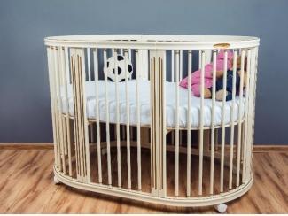 Детская кроватка-трансформер EcoSleep 9в1 Ренессанс