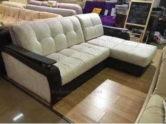 Светлый диван с оттоманкой Босфор - Мебельная фабрика «Котка»