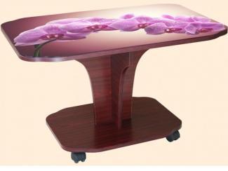 Стол журнальный Тюльпан фотопечать - Мебельная фабрика «ВиТа-мебель»