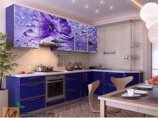 Угловая кухня Снежанна с фотопечатью