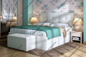 Кровать мягкая интерьерная Милана - Мебельная фабрика «Эльба-Мебель»