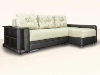 Черно-белый угловой диван Бруно - Мебельная фабрика «Димир»
