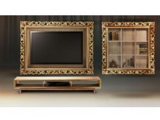 Коллекция Винченцо голд тумба под ТВ в гостиную - Мебельная фабрика «Tivoli»