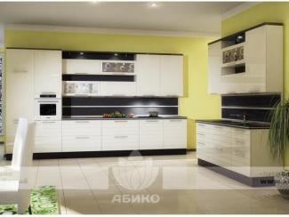 Кухня Драйв Белый глянец - Мебельная фабрика «Абико»