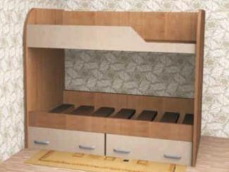 Кровать Двухъярусная 3 - Мебельная фабрика «Мебель Jazz»