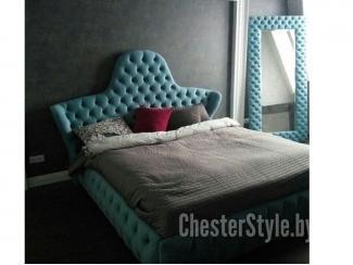 Кровать с красивым изголовьем - Мебельная фабрика «ChesterStyle», г. Гродно