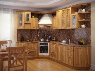 Кухня Уют массив - Мебельная фабрика «Гармония мебель»
