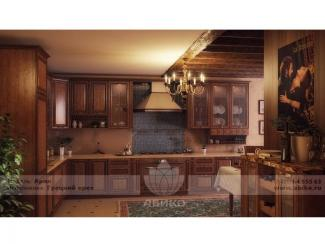 Кухня Ария Грецкий орех - Мебельная фабрика «Абико»