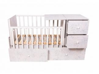 Детская кроватка КТП Алладин - Мебельная фабрика «Папа Карло»