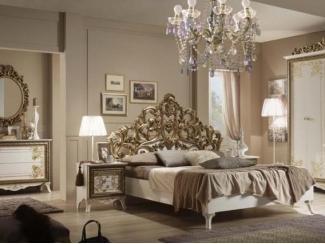 Спальный гарнитур Стефани золото