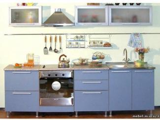 Кухня в алюминиевой рамке - Мебельная фабрика «Мебель-мастер»