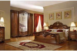 Коричневая спальня Джоконда - Мебельная фабрика «Слониммебель», г. Слоним