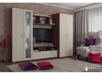 Шкаф комбинированный НМ Крокус - Мебельная фабрика «Сильва»