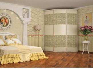 Радиусный шкаф-купе Нарайна 1 - Мебельная фабрика «Альбина»