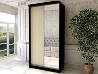 Шкаф-купе с зеркалом  - Мебельная фабрика «Ваша мебель»