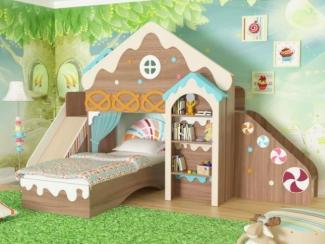 Детская Расписной домик - Мебельная фабрика «Мезонин мебель»