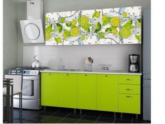 Кухня с фотопечатью Лайм - Изготовление мебели на заказ «Союз»