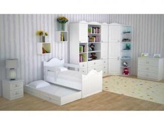 Детская модульная мебель Техно Белоснежная - Мебельная фабрика «БонусМебель»