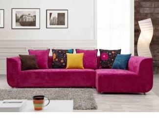 Розовый диван Трансформер  - Импортёр мебели «CОMMODA (Китай, Таиланд)», г. Москва