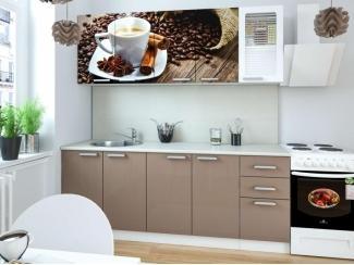 Кухня с фотопечатью Мокко - Мебельная фабрика «Элна»