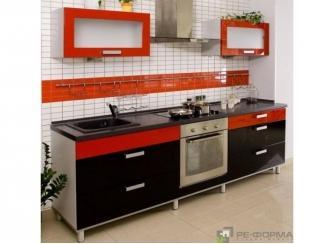 Прямая кухня Модерн 013 - Изготовление мебели на заказ «Ре-Форма»