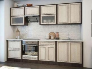 Кухня 2.6 м в цвете беленый дуб - Мебельная фабрика «Кухни Заречного»