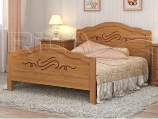 Деревянная кровать TOKATA 2 - Мебельная фабрика «Rila», г. Муром