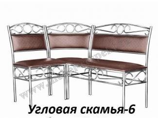 Угловая скамья 6 - Мебельная фабрика «Респект»