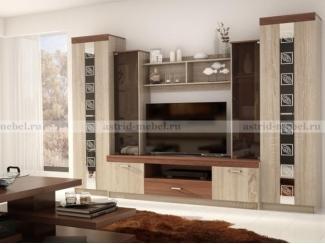 Гостиная Палермо 4 - Мебельная фабрика «Астрид-Мебель (Циркон)»