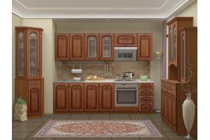 Кухня Ольха с буфетами - Мебельная фабрика «Миф»