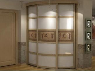Радиусный шкаф-купе в прихожую  - Мебельная фабрика «Вектра-мебель»