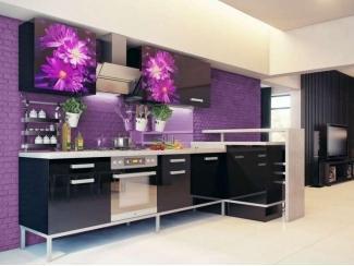 Кухня с фотопечатью KF 4 - Мебельная фабрика «FSM (Фабрика Стильной Мебели)»