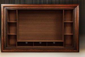 Модуль для книг и TV с полкой - Мебельная фабрика «Tivoli»