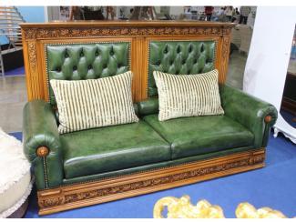 Мебельная выставка Москва: диван прямой - Мебельная фабрика «Максик», г. Калининград