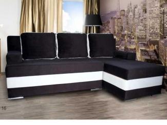 Черно-белый диван Риф