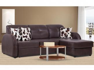 Угловой диван «Ника» кожа