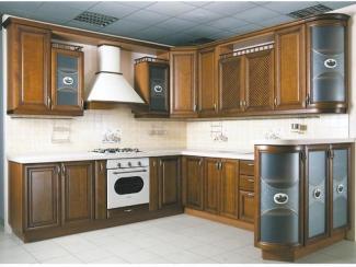 Кухня угловая «Массив 3» - Мебельная фабрика «Мебель Поволжья»