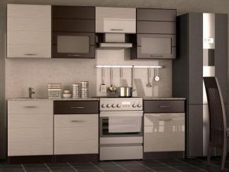 Кухня прямая «Соло- венге»