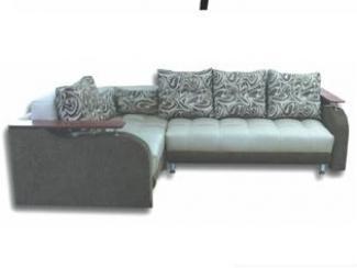 Угловой диван с деревянными подлокотниками Ниагара