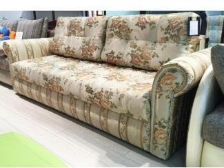 Прямой диван с цветами София Е - Мебельная фабрика «Триллион»