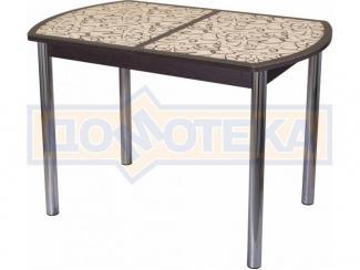 Стол кухонный со стеклом Гамма ПО - Мебельная фабрика «Домотека»