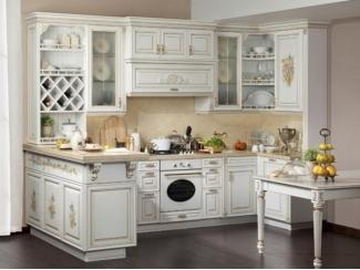 Роскошная угловая кухня Версаль - Мебельная фабрика «Экомебель»