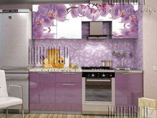 Кухня София 2,1м Орхидея (фотопечать) - Мебельная фабрика «Интерьер-центр»