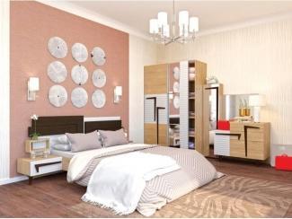 Спальный гарнитур Интеро - Мебельная фабрика «Ник (Нижегородмебель)»