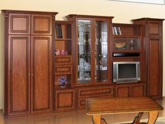 Гостиная стенка Наполи - Мебельная фабрика «Прометей»